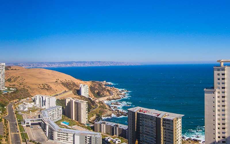 Vista real desde el piso 29